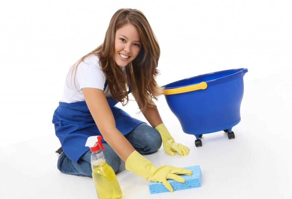تنظيف المنزل في وقت قصير