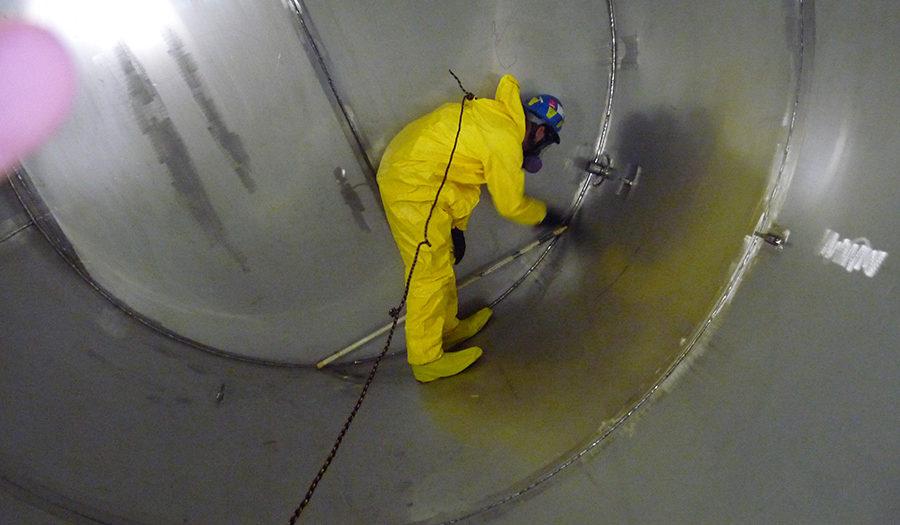 غسيل خزانات مياه الشرب