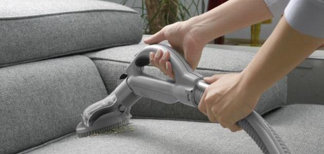 اهمية البخار في تنظيف المفروشات