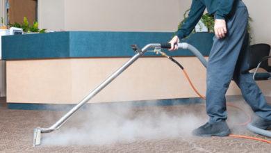 تنظيف المفروشات بالبخار
